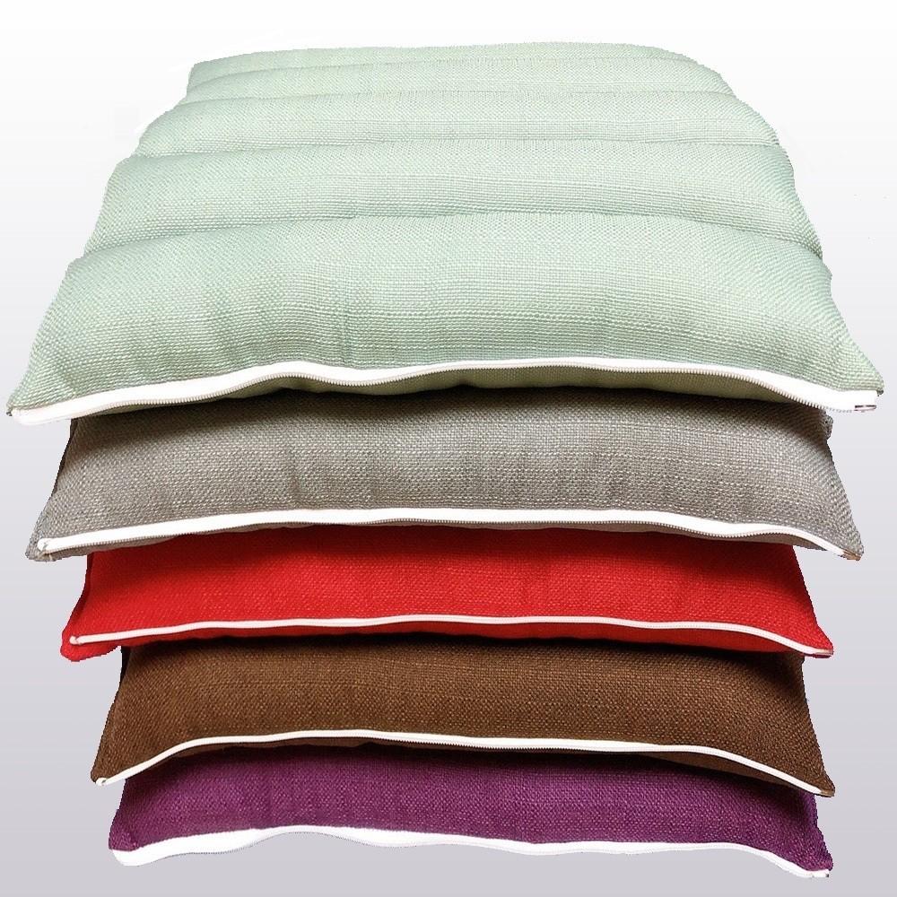 RueHong(其他)-仿亞麻多功能午睡枕/腰頸枕/坐墊/椅墊/軟墊(5色可選)