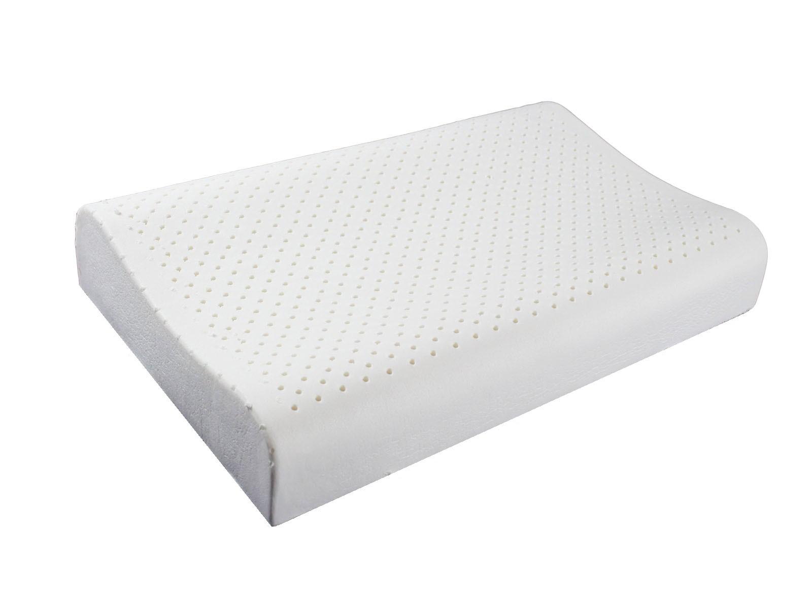 RueHong(枕頭)-100%天然乳膠枕(人體工學型) - 枕心-1 入