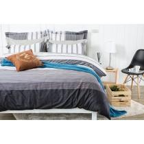 RueHong(寢具)精梳棉系列床包+兩用被-城市享樂